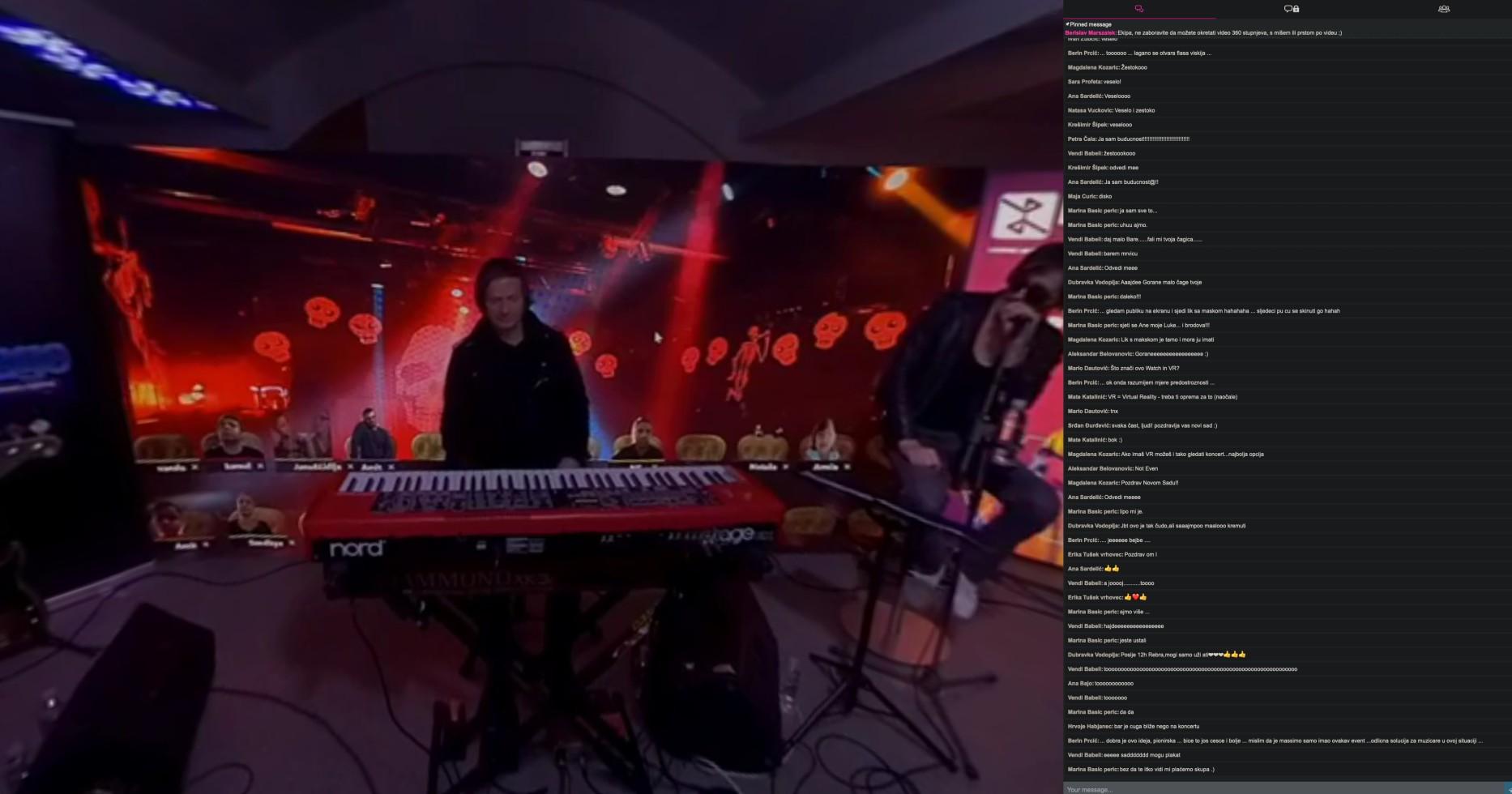 Music concert by Virtu@lna on meriMeet.com