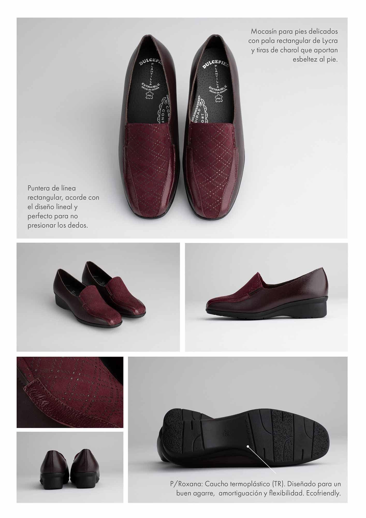 Cátalogo de zapatos de Dulcepies