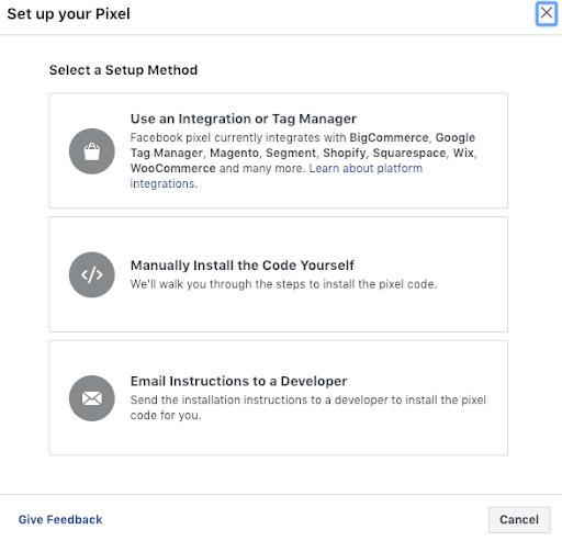 Facebook Pixel Installation Process