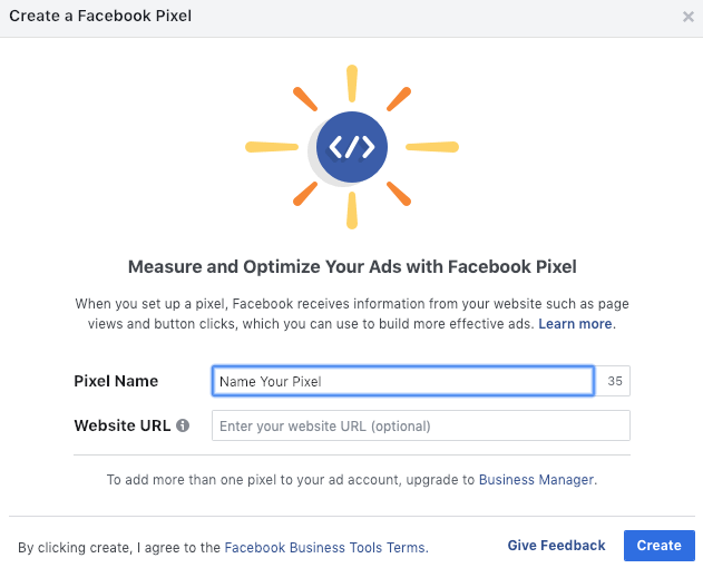 How To Create Facebook Pixel