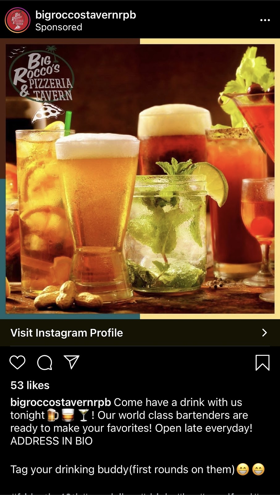 Big Roccos Tavern Palm Beach Instagram Mistake to avoid