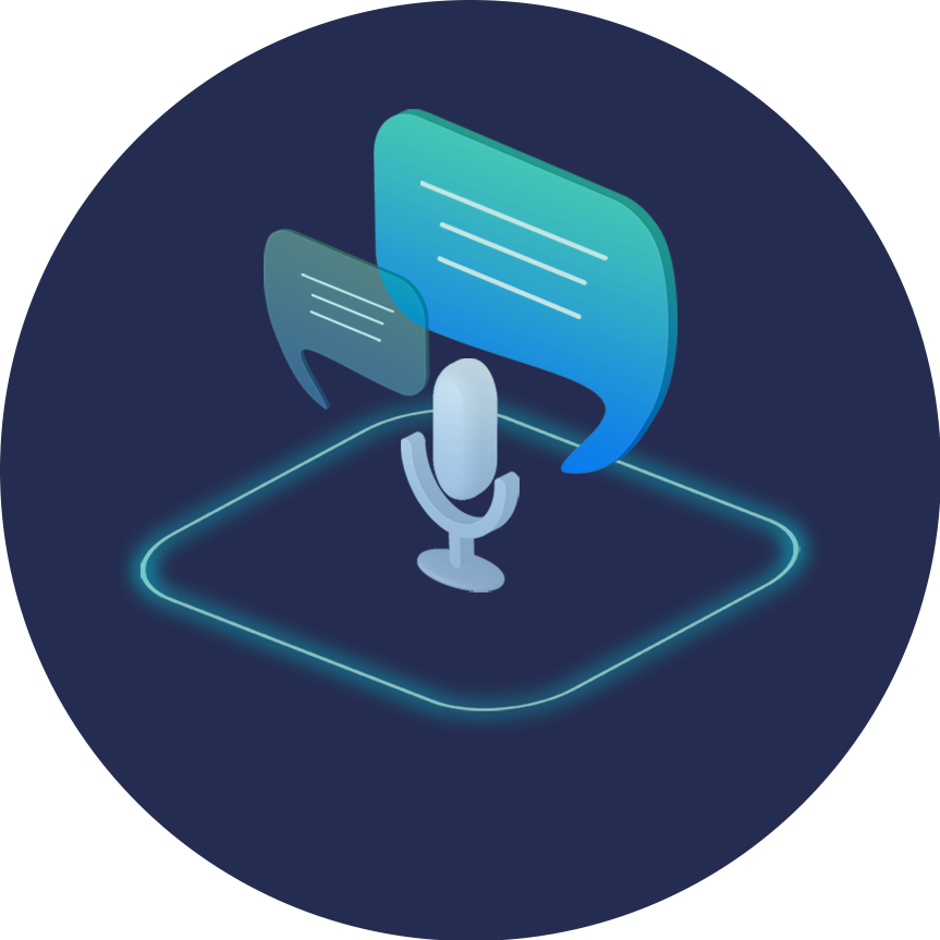 speech recognition logo