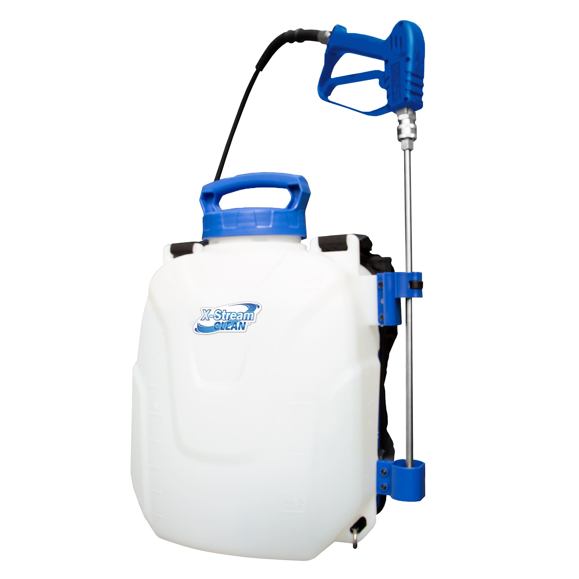 X-Stream Clean® MicroBurs™ Cleaning and Sanitation Lithium-Ion battery powered sprayer