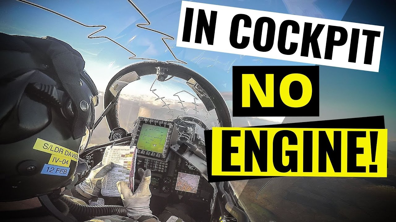When the ENGINE STOPS - Fighter Jet (FULL ATC AUDIO)