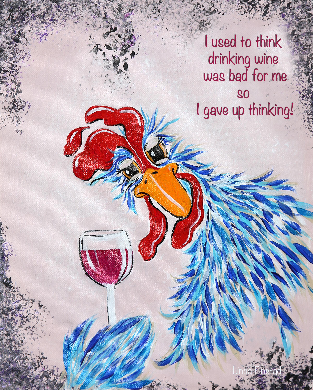 Chicken Wisdom - Red Wine