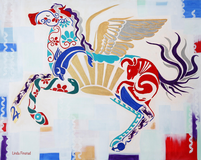 Greek Heritage horse