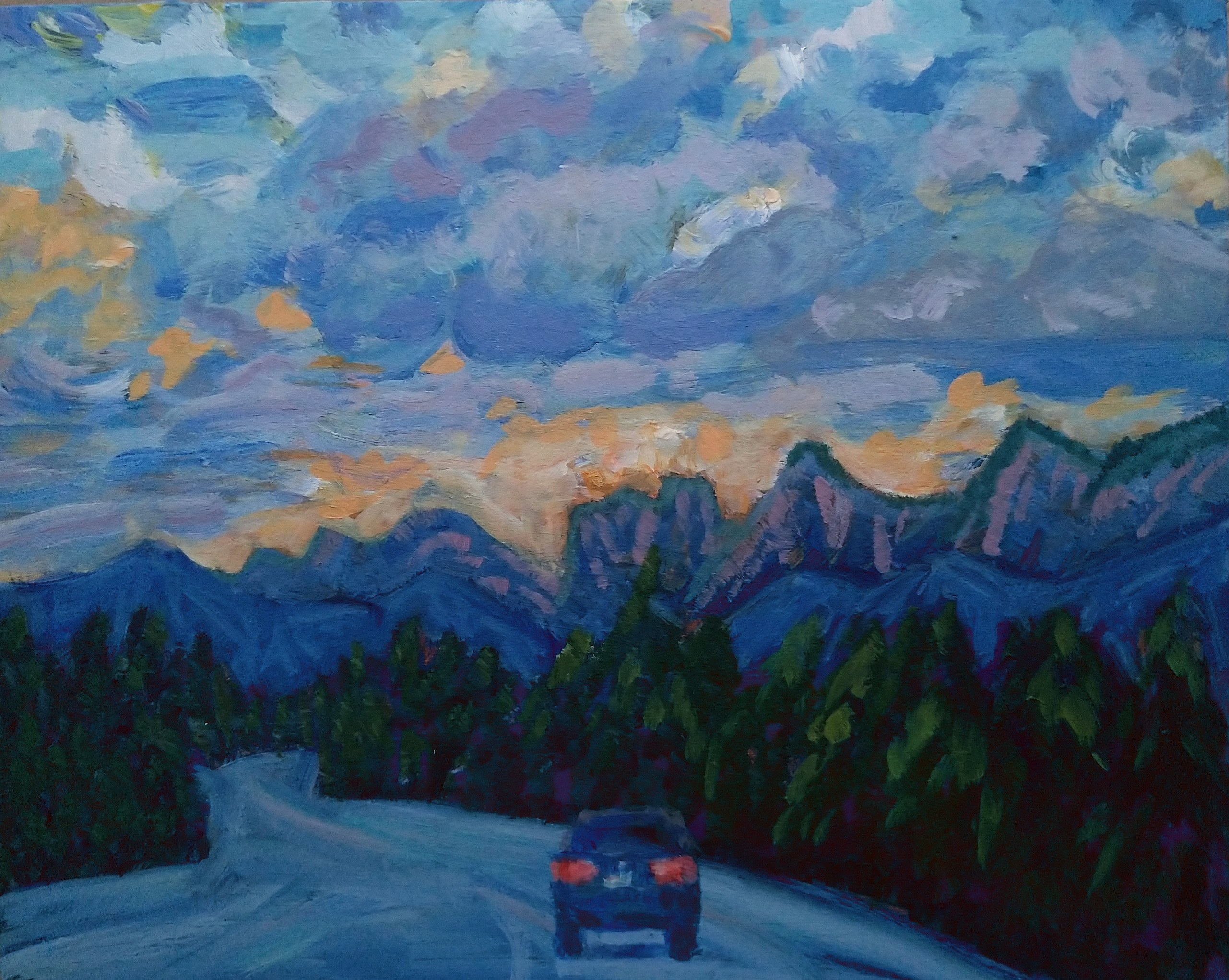 Leaving Banff SOLD (Sold)