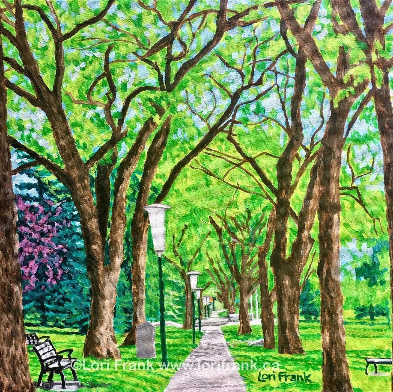 Walk With Me, Leg Grounds, Edmonton, Alberta