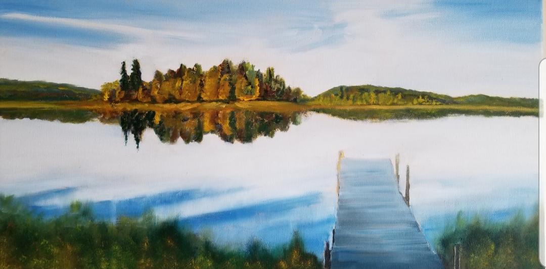 Quiet at Island Lake
