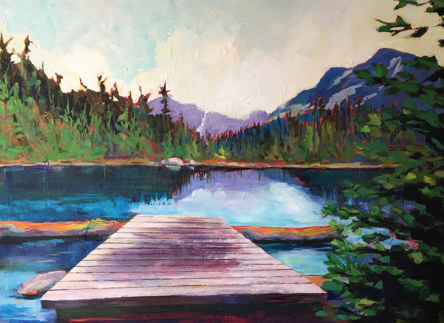 Outpost Lake, Jasper, Alberta
