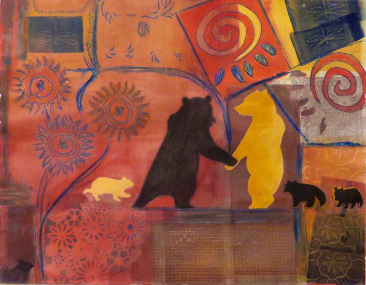 Lovers of the Wild (Framed)