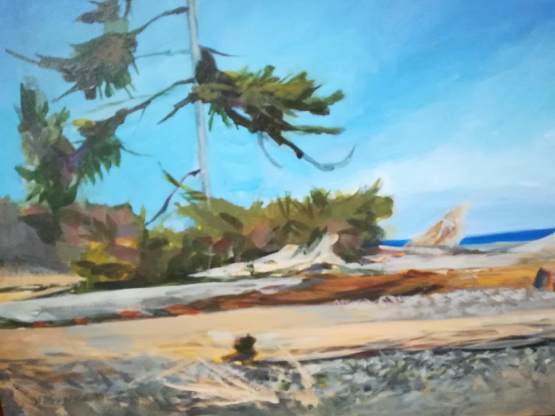Lonely Pine Rathstrevor Beach