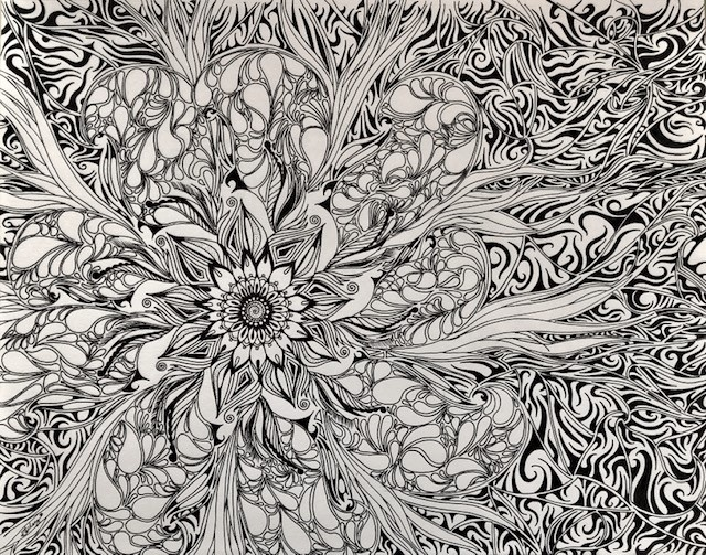 Flaming Floral