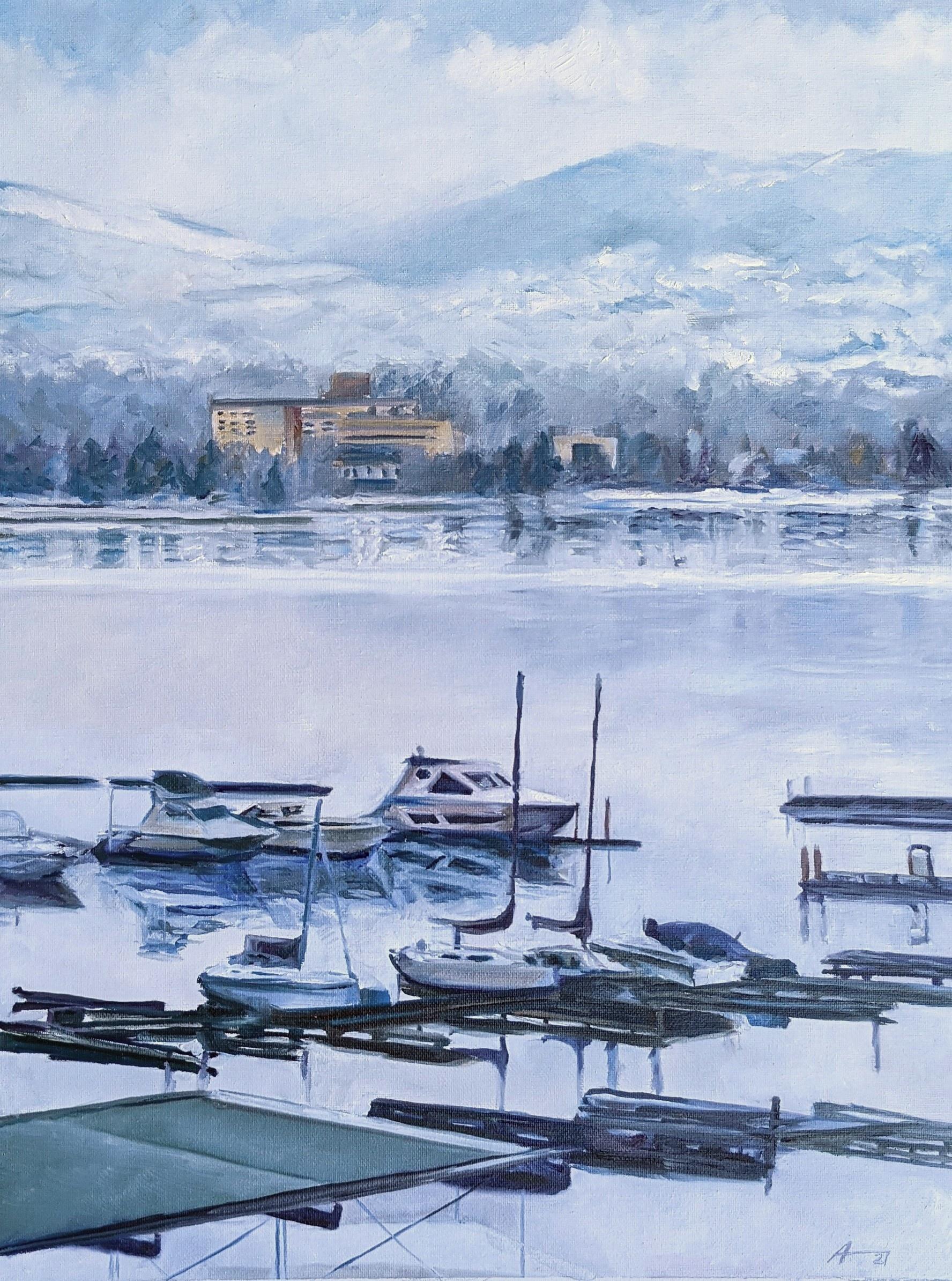 Kelowna Winter Marina