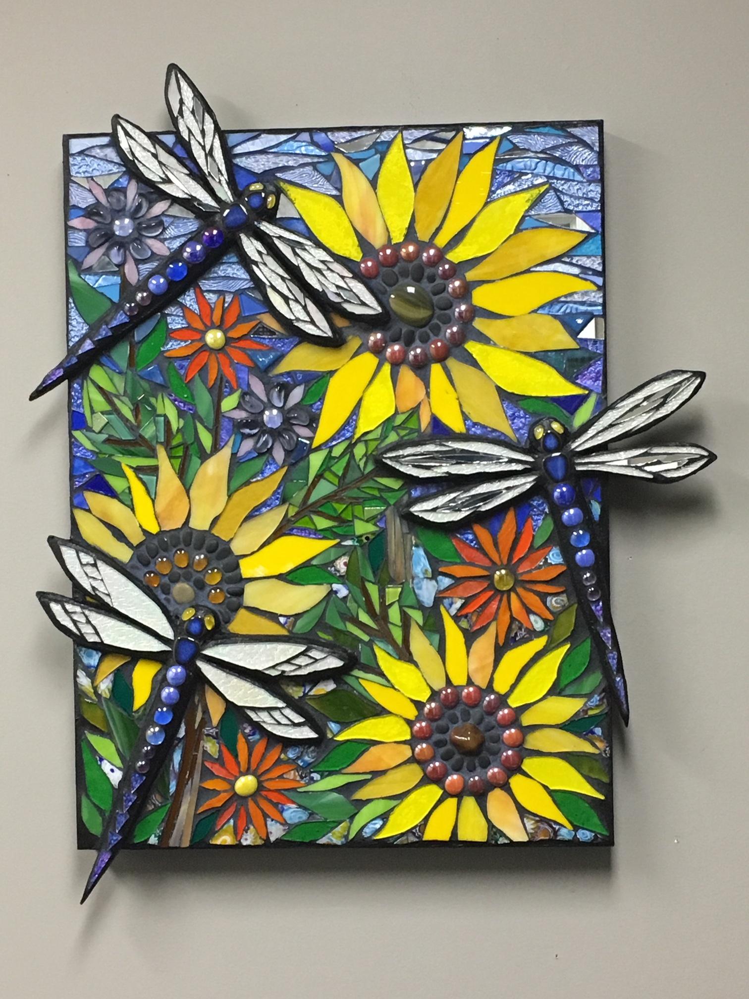Dragonflies in Van Gogh's Garden