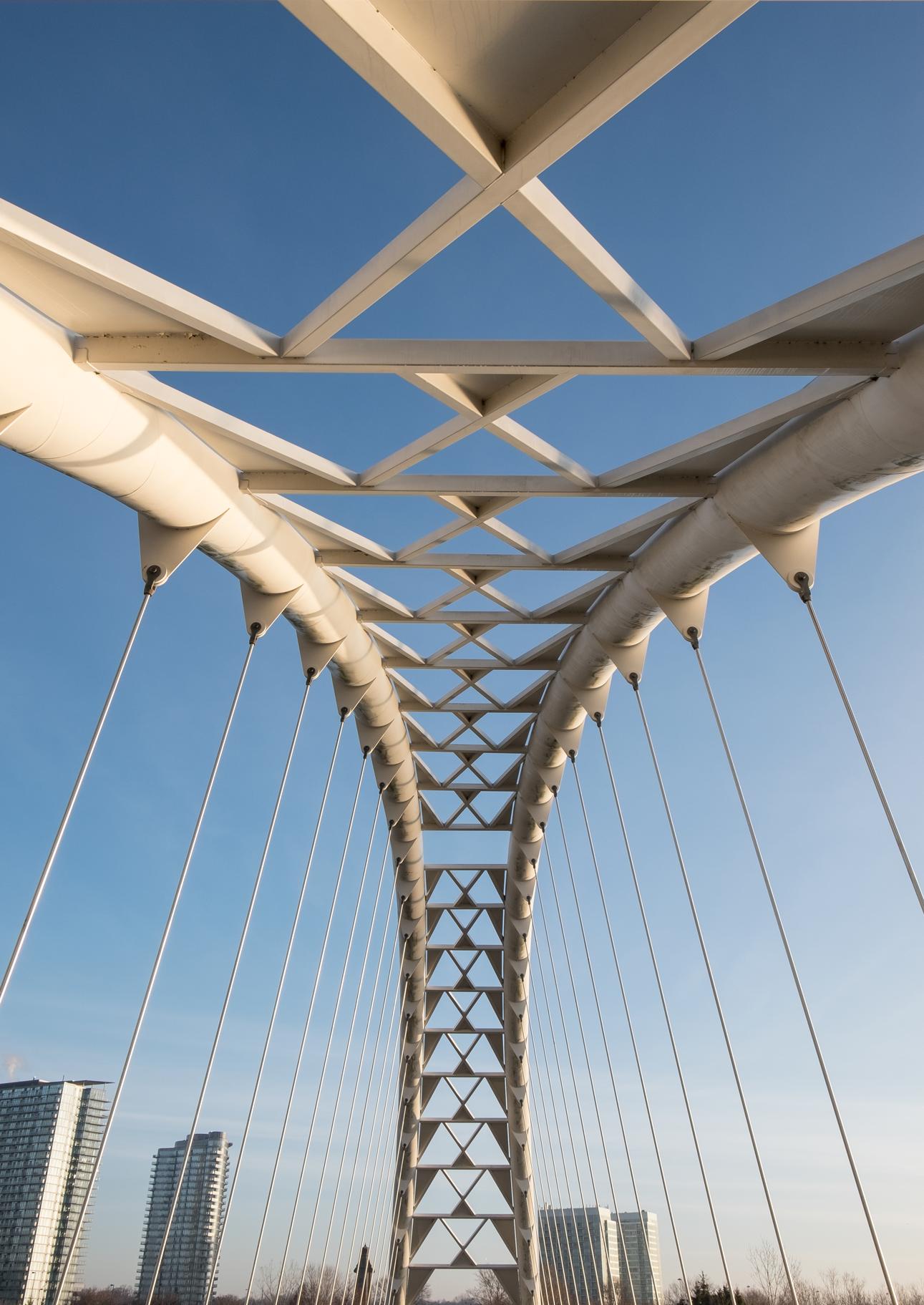 Bridge downtown toronto