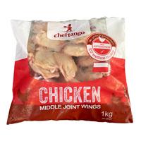 波蘭無激素雞中翼 1kg