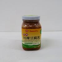 台灣 味榮有機川辣豆腐乳300g
