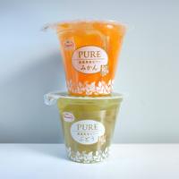日本PURE果肉啫喱 (兩杯裝-可選 蜜柑、菠蘿、雜果)
