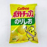 Calbee 卡樂B のりしお 鹽味紫菜薯片 60g