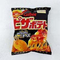 Calbee 卡樂B 濃厚芝士肉腸Pizza味薯片 63g