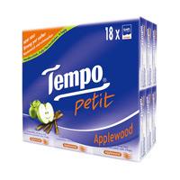 Tempo包裝迷你紙巾-蘋果木(18包裝)