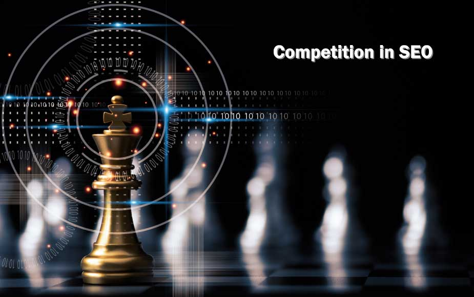 Competition in SEO by rankwisely