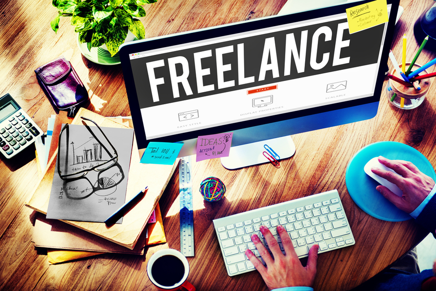 Join freelancing websites to get more clients