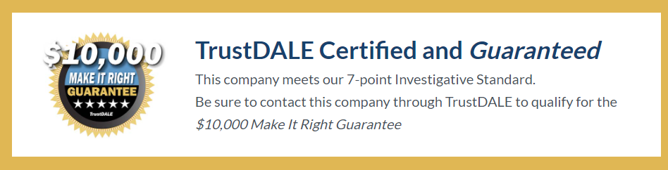 TrustDale Certification