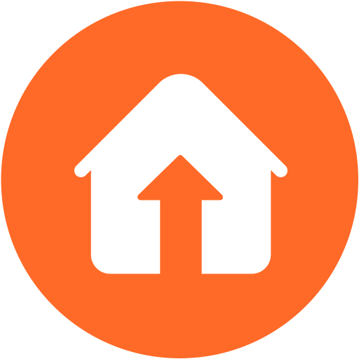 House value going up icon