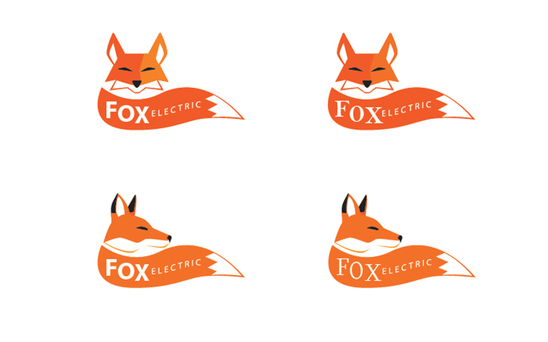 Fox Electric Logo Development