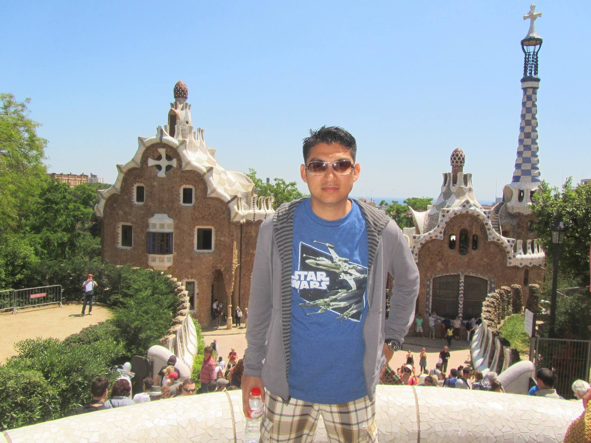 Adonis Salazar at Park Güell - Barcelona, Spain