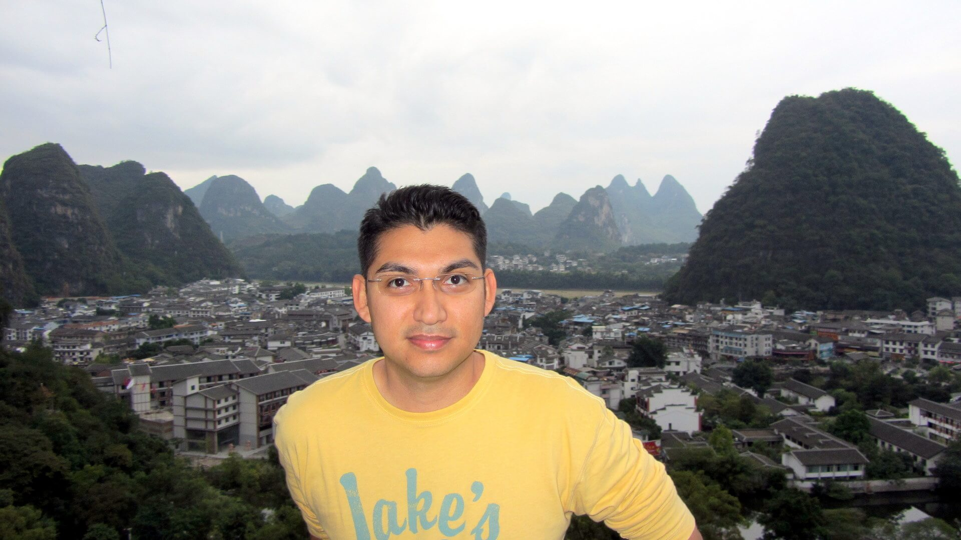 Adonis Salazar in Yangshuo, China
