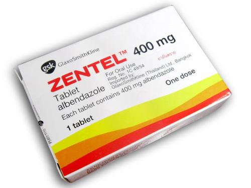 Zentel – Thuốc trị ký sinh trùng ở người