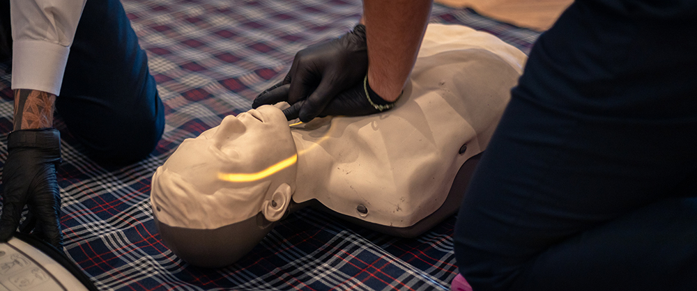 Kalliopi First Aid Training Dummy with First Aid Kit