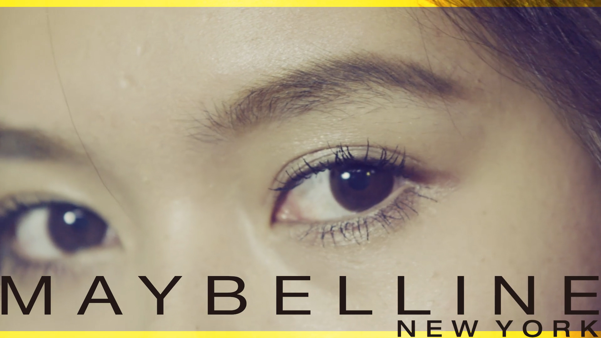 MAYBELLINE/BIGSHOT WEBCM