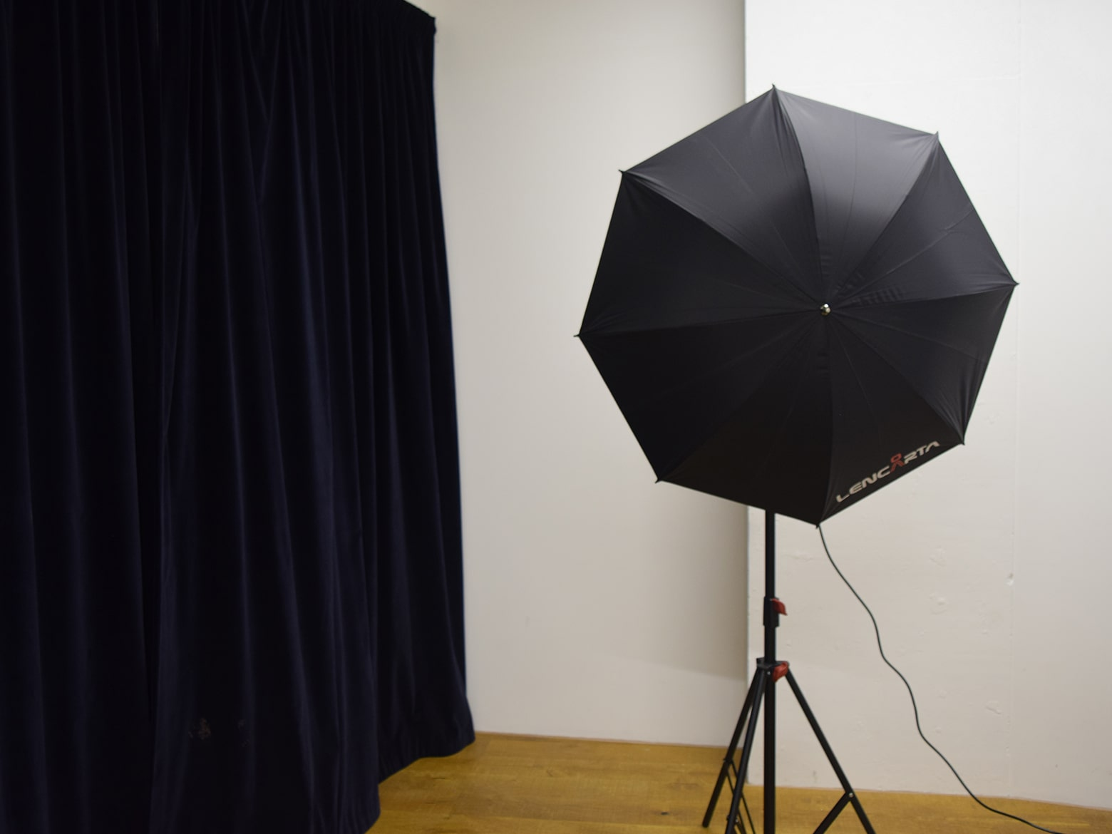 lights in photography studio