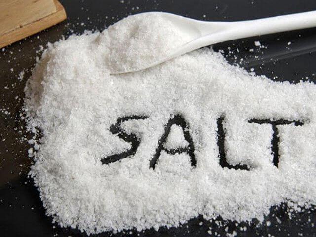 giảm mỡ bụng bằng muối