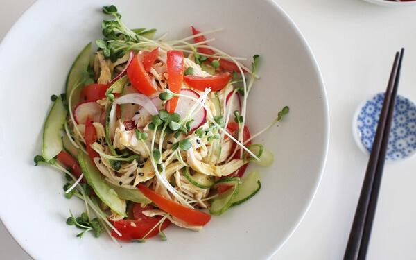 ăn dưa chuột giảm béo