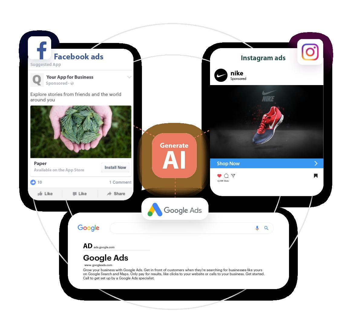 Scalenut GenerateAI-Ad Caption