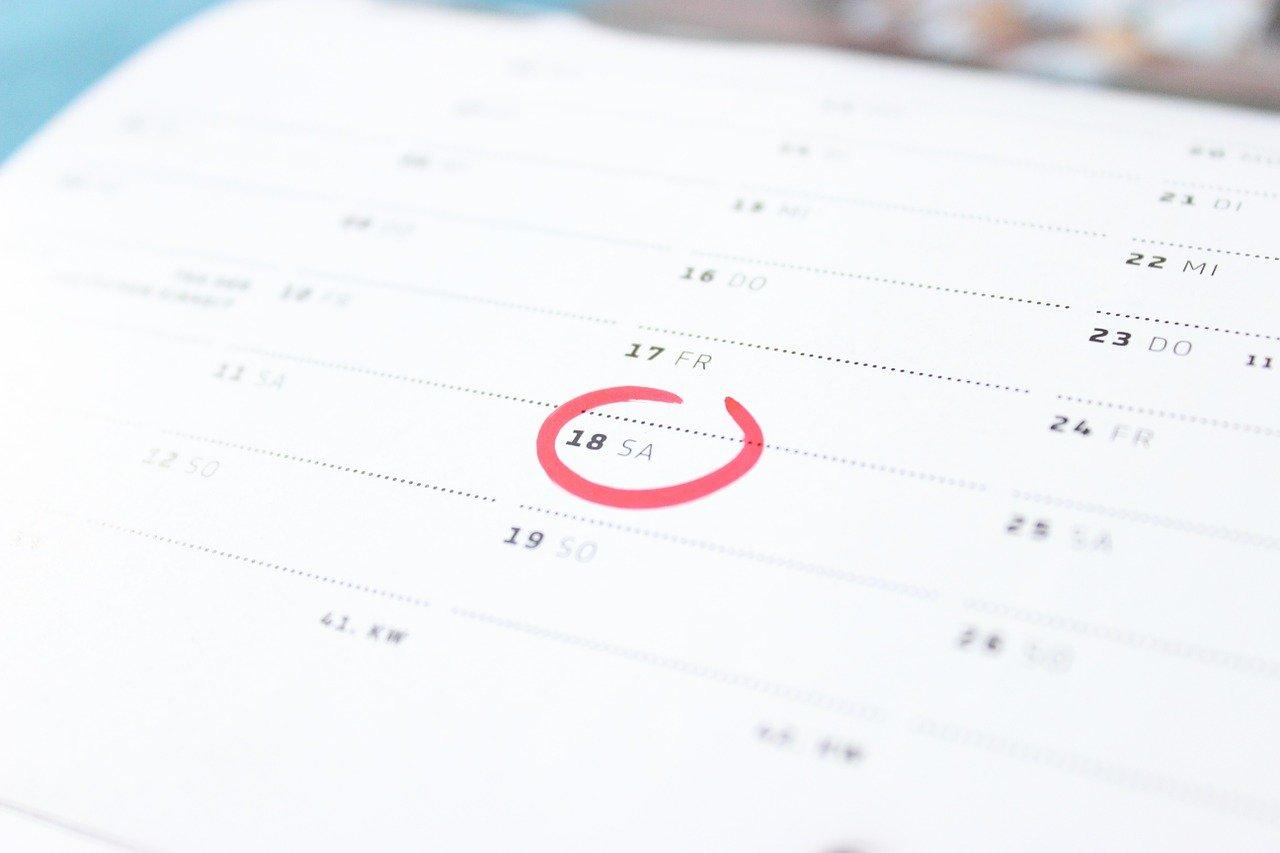 dates importantes micro entreprise