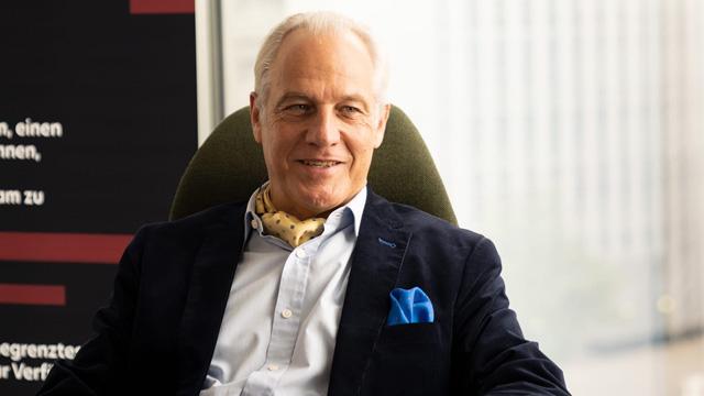 Dr. Markus Elsässer, Diskutant des alphaTrio