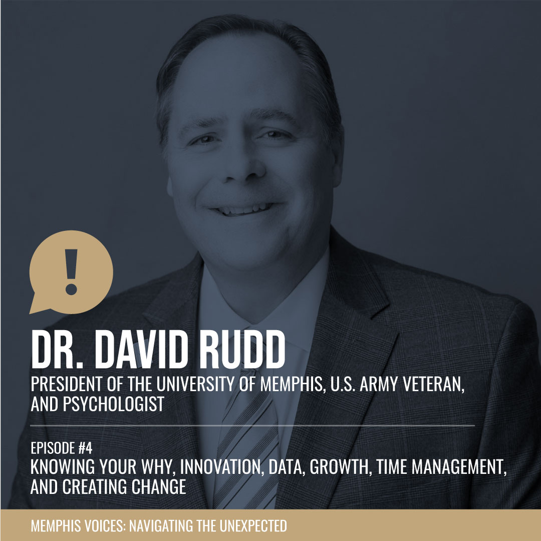 "Dr. David Rudd | ""Knowing Your Why"", Innovation, Data, Growth, Time Management, and Creating Change"
