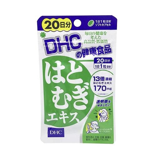 4.review viên uống trắng da dhc của Nhật