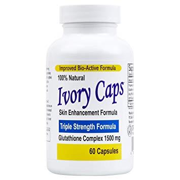 10.Thuốc trắng da toàn thân của mỹ Ivory Caps