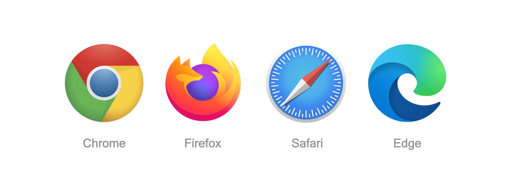 Browsers logos
