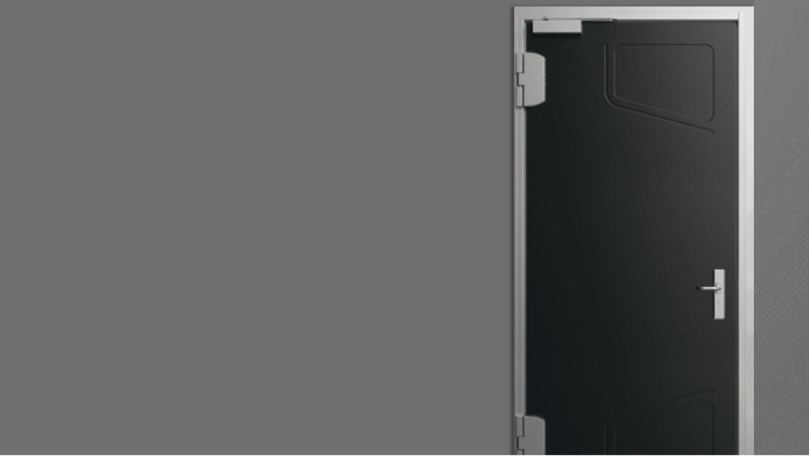 Porte modulaire AGIL : propriété à la carte résistant aux séismes anti-radiation dans les secteurs du nucléaire, de la défense, oil&gas