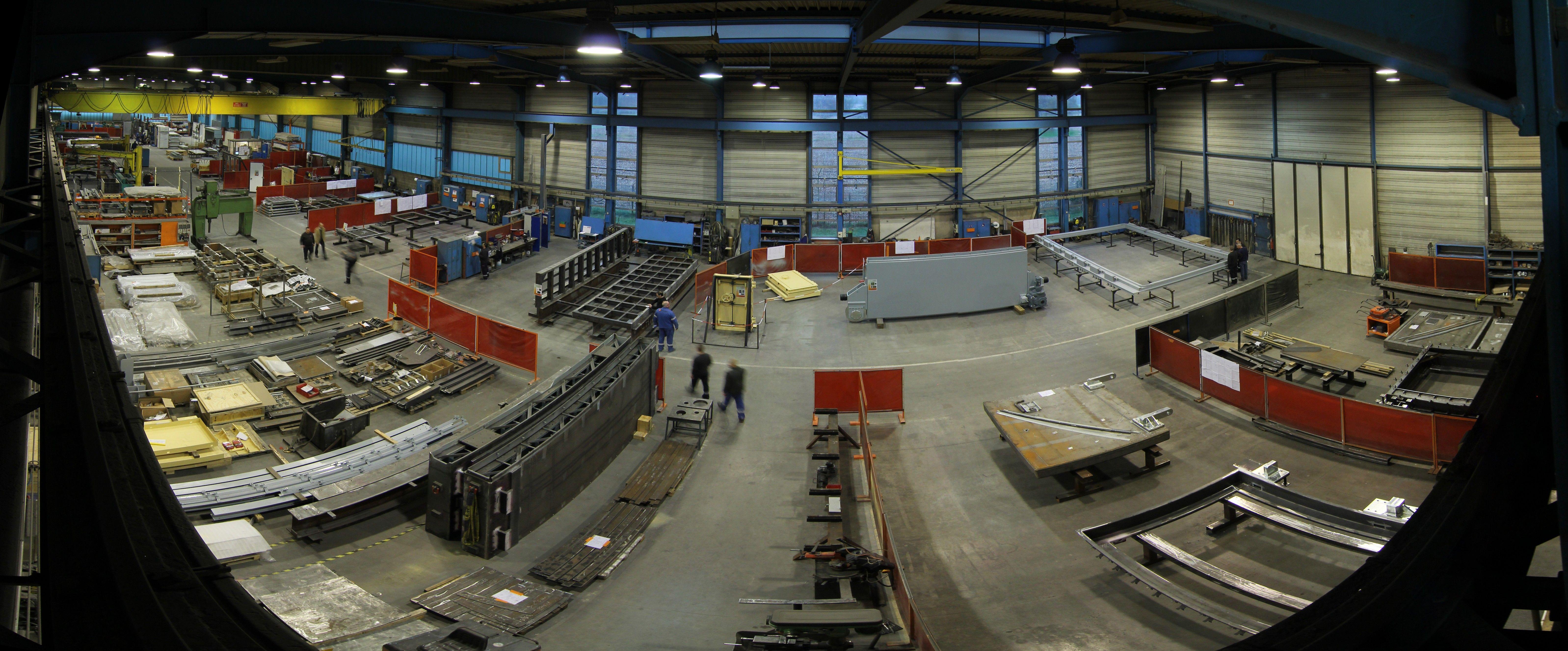 Présentation usine et siège Baumert expert portes techniques sur mesure pour sites sensibles dont site nucléaire