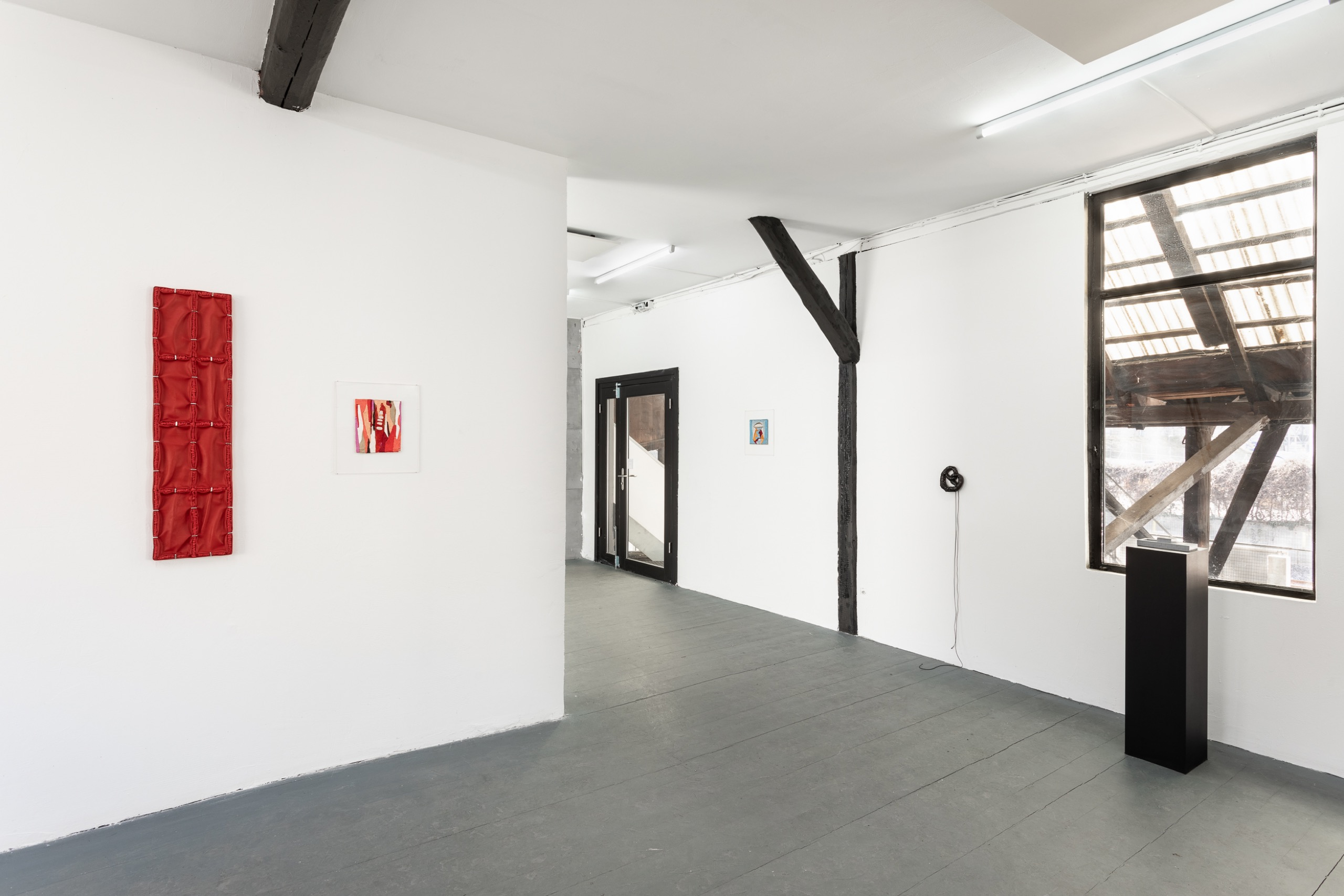 Have Sanity, Installation view, upstairs space