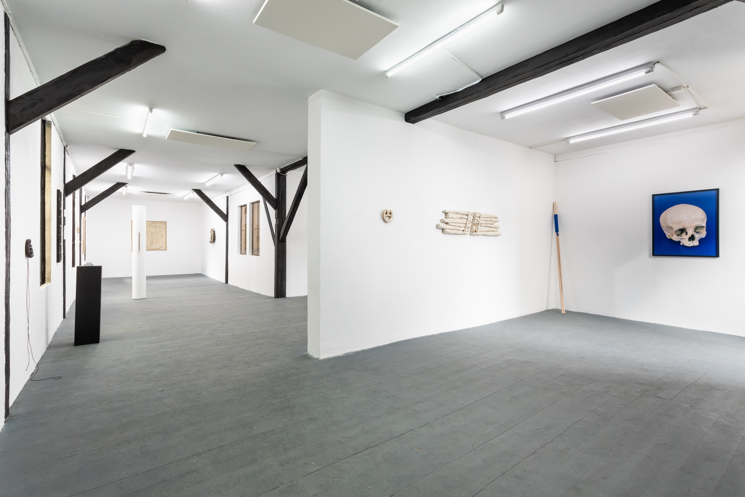 Have Sanity, Installation view, upstairs space.